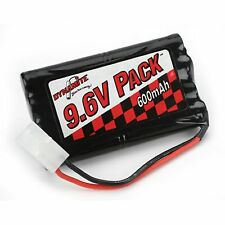 9.6V 8-Cell 600mAh NiCd Toy Battery Pack by Dynamite DYN1300 Nikko® and Tyco®
