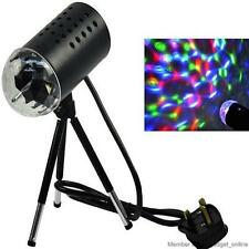 Rotating RGB LED 3D Effect Stage Light Party DJ Disco Lamp Dance Xmas New Year