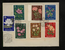 Macau  372 +++   on   cover   7  stamps          AT0917