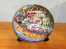 McDonalds Limited Edition Franklin Mint Collectors Plate - Golden Summer