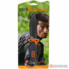Gerber Bear Grylls Ultimate Serrated Blade Knife w/ Fire Starter & Case 31000751
