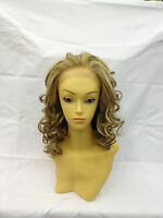 Premium Futura Curly Lace front Wig. Heat Resistant