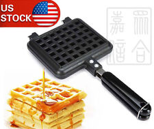 New Breakfast Belgian Waffle Maker Coated Steel with Stay-cool handle