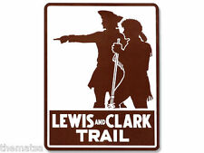 "5"" LEWIS AND CLARK NATIONAL SCENIC TRAIL TOOLBOX HELMET  DECAL STICKER USA MADE"