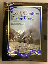 COAL, CINDERS AND PARLOR CARS COLORADO RAIL ANNUAL NO. 19 HARDCOVER BOOK CRM