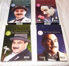 Agatha Christie Poirot The Movie Collection Sets 1-4 1 2 3 4 Tested Buy It Now