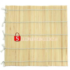 Bamboo SUSHI Rice Mat Maker Makisu Roll Kitchen Hand Rolling Tools Supply 5m9e