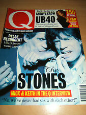 Q Magazine 95  Aug 94 Features The Rolling Stones, Bob Dylan