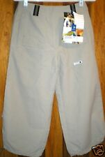 Lafuma Women's Pants NWT Size 6-8 USA 38 France Cropped Made of Polyamid NICE