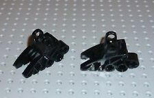 LEGO BIONICLE - Foot w/ Ball Joint Socket 2x3x5, BLACK x 2 (41668) BN137