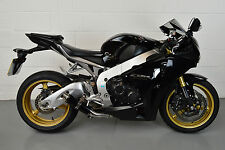 CBR1000RR 08-13 SP Engineering Satin Black Stubby Moto GP Low Slung Exhaust