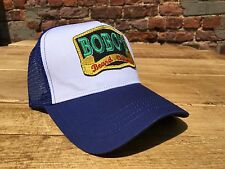 Bobos Beard Company Royal Blue Trucker Baseball Cap Hat Baseball Retro Cool