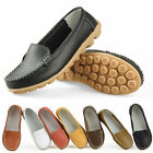 Women Mother Leather Shoes Flat Comfort Moccasin Anti-skid Loafer Hot Sale