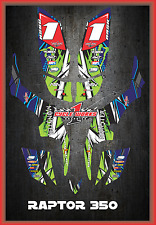 Yamaha RAPTOR350 RAPTOR 350 SEMI CUSTOM GRAPHICS KIT LIGHTNING1