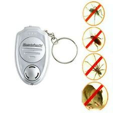New Ultrasonic Mosquito Repeller Pest Bug Repellent fly flying Insect Keychain