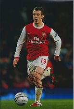Jack WILSHERE Arsenal SIGNED COA Autograph 12x8 Photo AFTAL Midfield Authentic