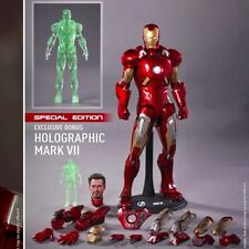 hot toys iron man mark 7 vii mms 185 special edition
