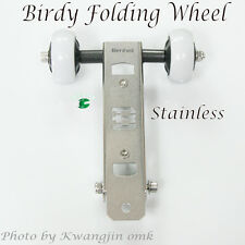 Birdy folding wheel Stainless,Made in South Korea,Minivelo