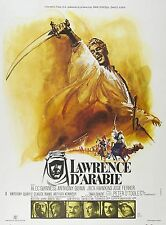 LAWRENCE D'ARABIA MANIFESTO PETER O'TOOLE ALEC GUINNESS ANTHONY QUINN HAWKINS