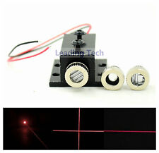 Adjusted Red Diode Lasers 650nm 5mw Dot/Line/Cross LED Module w/ Heatsink