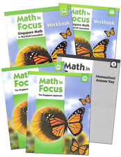 Grade 3 Math in Focus Homeschool Kit Semester 1 & 2 Singapore 3rd Curriculum