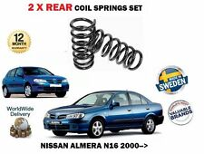 FOR NISSAN ALMERA N16 1.5 1.8 2.2 DI DCI 2000- NEW 2X REAR COIL SPRING KIT