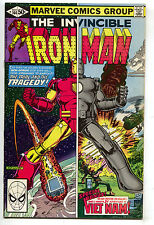 Invincible Iron Man 144 Marvel 1981 NM- Bob Layton Vietnam Dazzler Ad