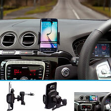 Car Pro Air Vent V2 Van Mount + Large Holder for Samsung Galaxy S6 S7 Edge Plus