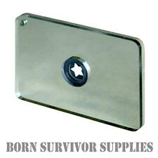Ultimate Survival STARFLASH SIGNAL MIRROR Emergency Signalling Mayday Heliograph