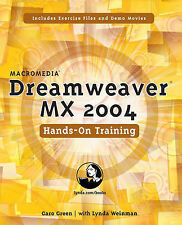 Macromedia Dreamweaver MX 2004 Hands-on Training, Green, Garo