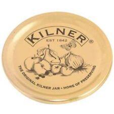 Kilner Set di 12 GOLD mantenendo Coperchi sigilli Jam Jar di tenuta a vuoto