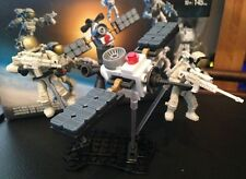 LEGO ASTRONAUT AND SPACE STATION MEGA BLOKS