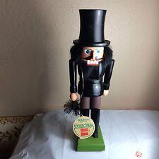 """Vintage German handmade 11 1/2"""" Chimney Sweep Nutcracker"""