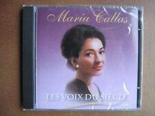 MARIA CALLAS CD BELGIQUE LES VOIX DU SIECLE