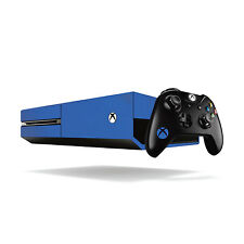 Xbox One Colourful Vinyl Wrap: Matte Blue / Xbox One Skin Sticker Cover with ...