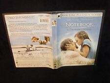 The Notebook (DVD, 2005) Mint Disc!•Real USA Made!•No Scratches!