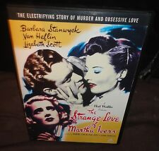 The Strange Love Of Martha Ivers (DVD, 1946) Barbra Stanwyck, Kirk Douglas