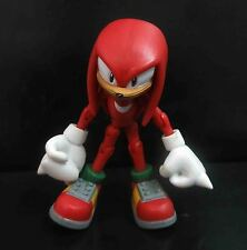 "SEGA SONIC THE HEDGEHOG KNUCKLES ACTION FIGURE 3"" #FL5"