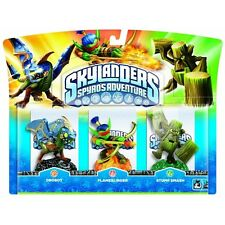 Skylanders:Triple Character Pack - Drobot, Stump Smash & Flameslinger