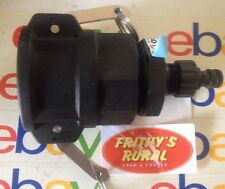 """IBC TANK Adapter 50mm 2"""" F/MALE Camlock + 12mm Snap Garden Hose Fitting D 050 PP"""