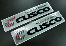 Cusco Stickers Decals Strut Braces Bars LSD Coilover Evo WRX FREE SHIPPING x 2