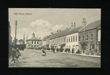 Ireland ANTRIM High St street scene Antrim Arms c1900s? PPC local pub McKeown