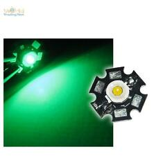10 x Di alta prestazione LED Chip 1W VERDE HIGHPOWER STAR LED