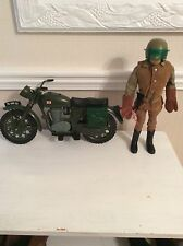 VINTAGE ACTION MAN-Dispatch Rider y moto. Estado Brillante. L @ @ K.