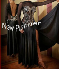 B4308 Elegant Women Ballroom party tango waltz salsa standard dance dress US 10