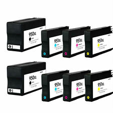 Ink Cartridge for HP 950XL/951XL use in Officejet Pro 8600 e Printer(4-color x2)