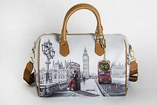 YNot? bauletto medium LONDON KISS Handtasche  F-318 LK