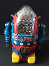 USA Seller NEW Cragstan MR ATOMIC Robot COA Osaka Tin Toy Institute BLUE COLOR