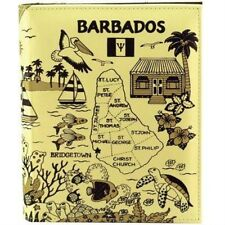BARBADOS MAP EMBOSSED PHOTO ALBUM 200 PHOTOS/ 4x6