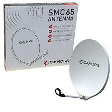 Cahors 65cm Fibre Glass Rustproof Satellite Dish ideal for coastal area